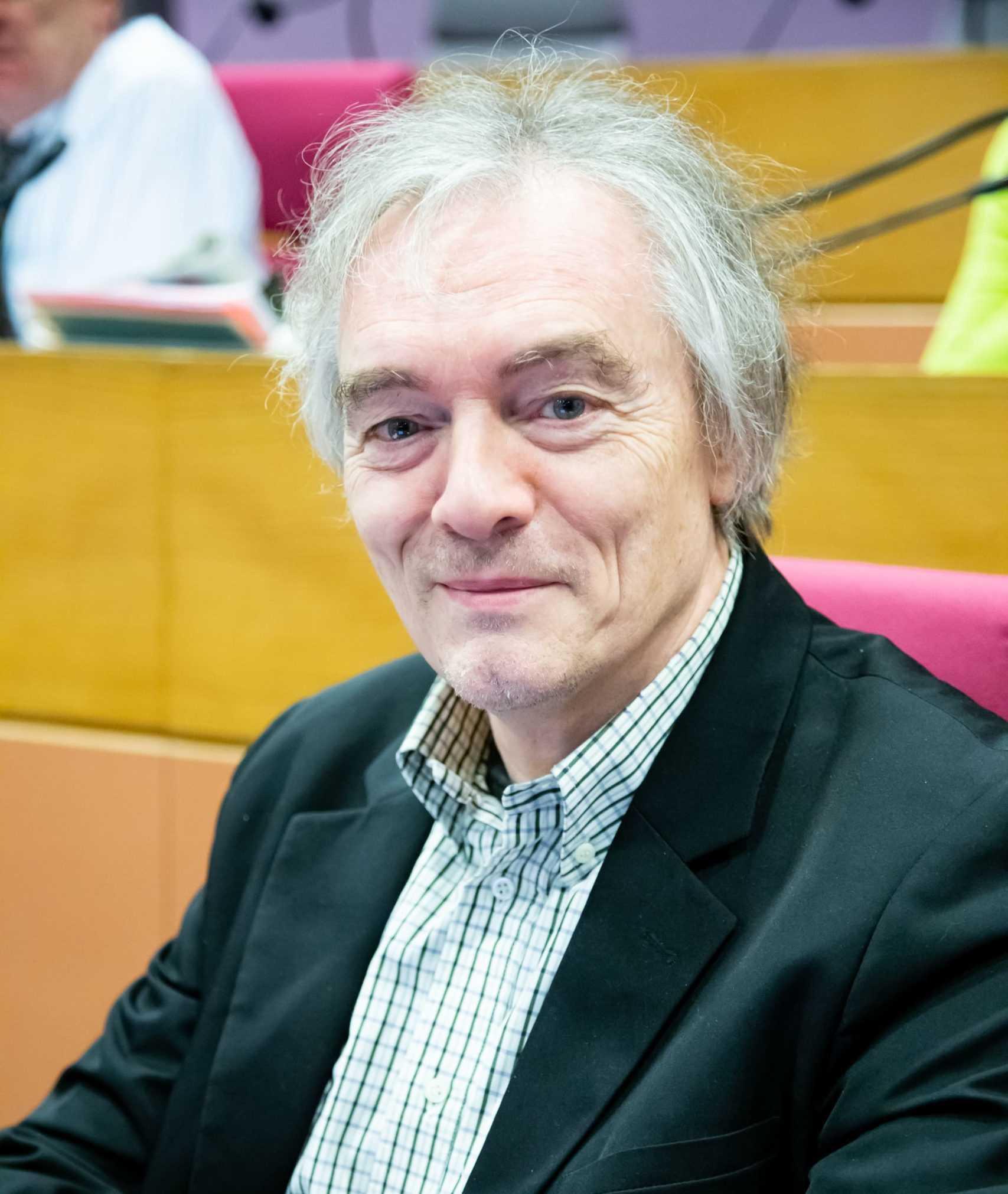 Portrait de Dominique Ruffié, vice-président du Ceser Île-de-France