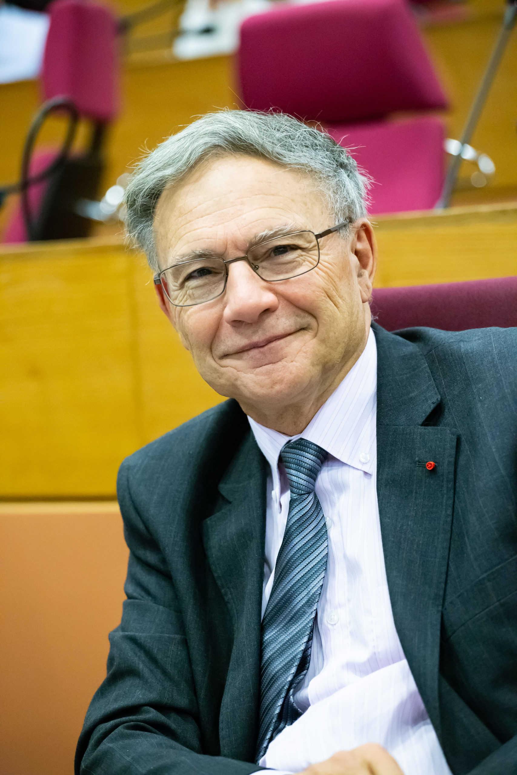 Le vice-président Jean-Michel Richard dans l