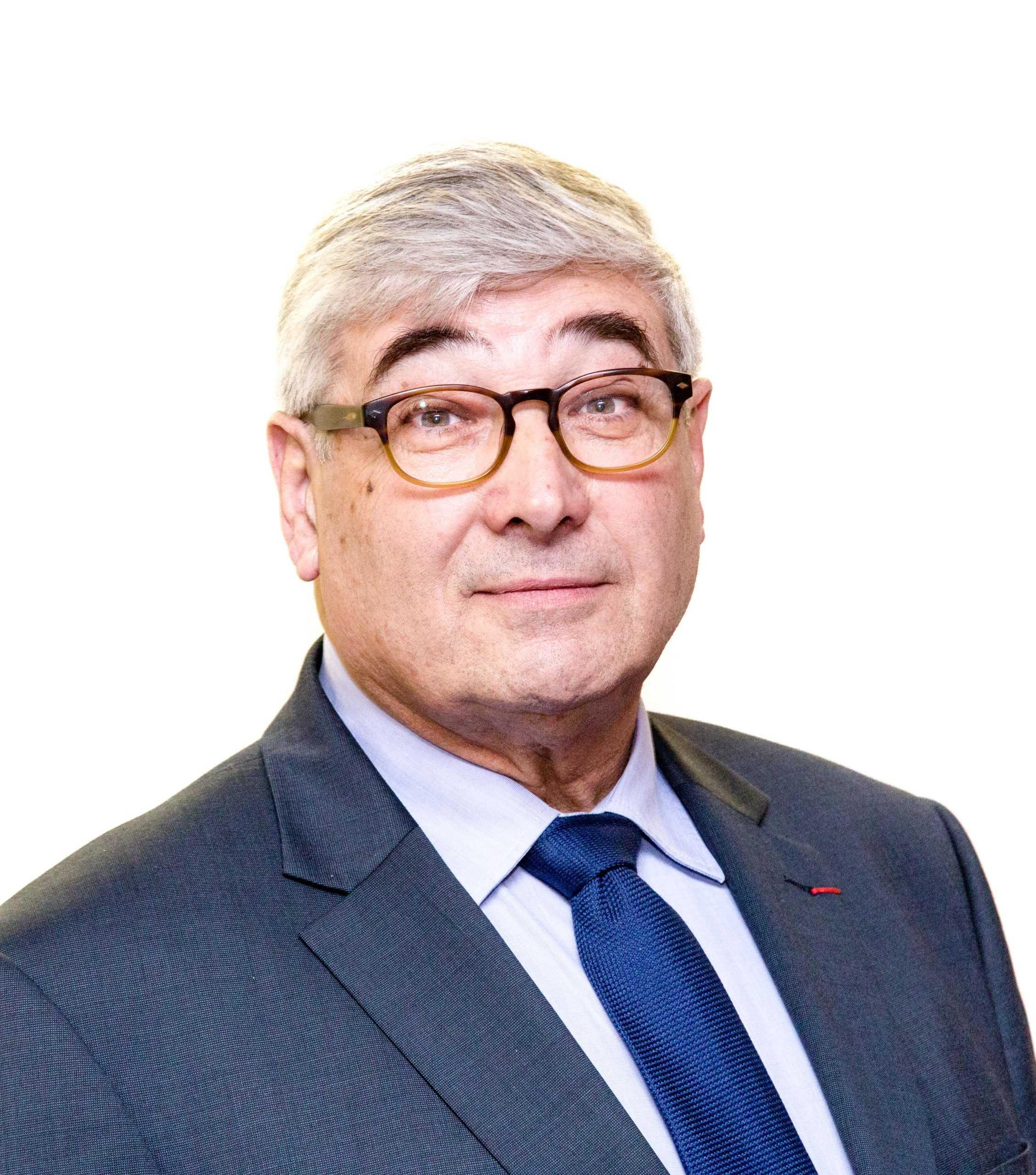 Portrait d'Eric Berger, président du Ceser Île-de-France